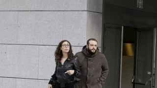 Guillermo Zapata a su llegada este miércoles a la Audiencia Nacional.