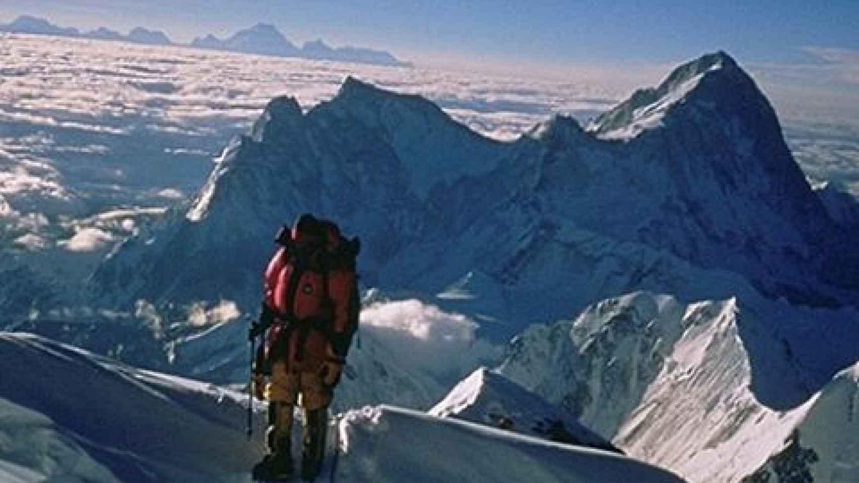 Carlos Soria ya hizo cumbre en el Everest en 2001.