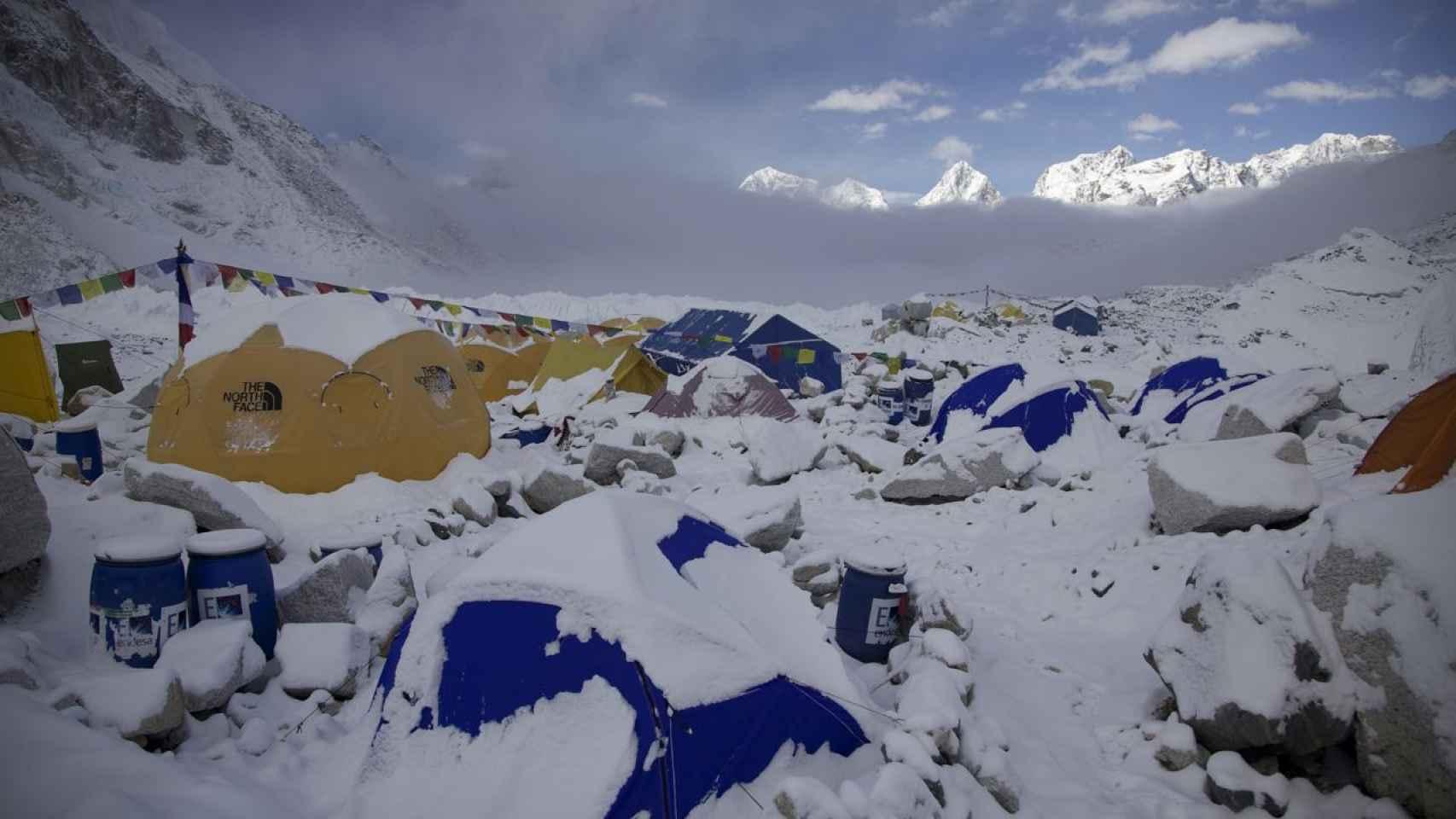 Campamento base del monte Everest.