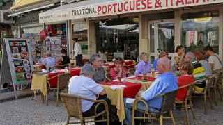 Un restaurante mediterráneo