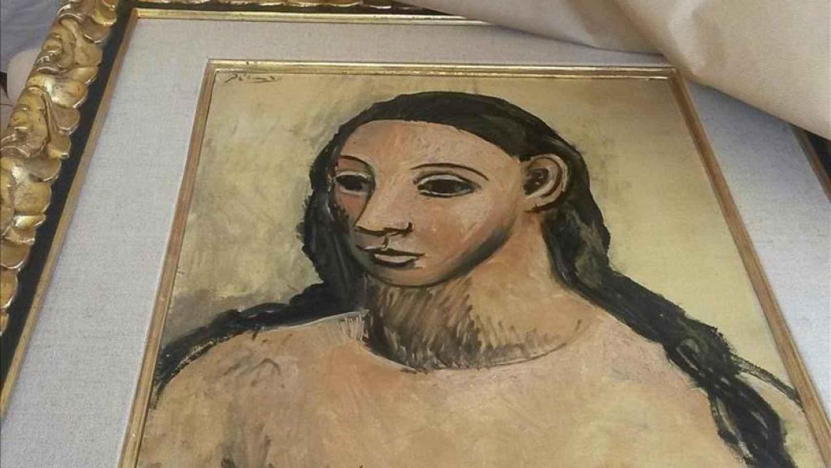 Cuadro de Picasso que pretende vender Jaime Botín