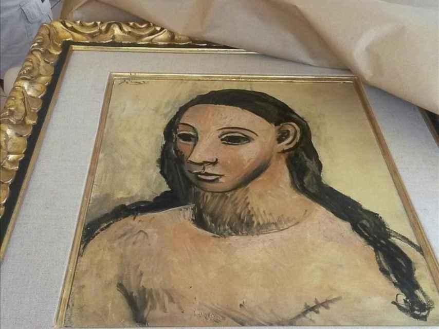 Cabeza de mujer joven, de Picasso.
