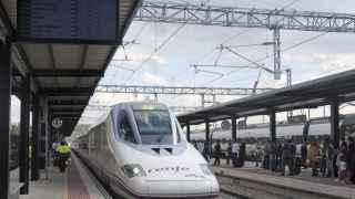 Uno de los trenes de alta velocidad