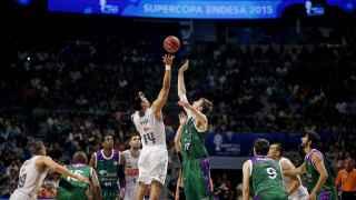 Salto inicial en la pasada semifinal de la Supercopa ACB.