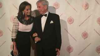 Preysler y Llosa este jueves en la Hispanic Society