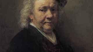 Autorretrato de Rembrandt (1669), en el Museo Mauritshuis