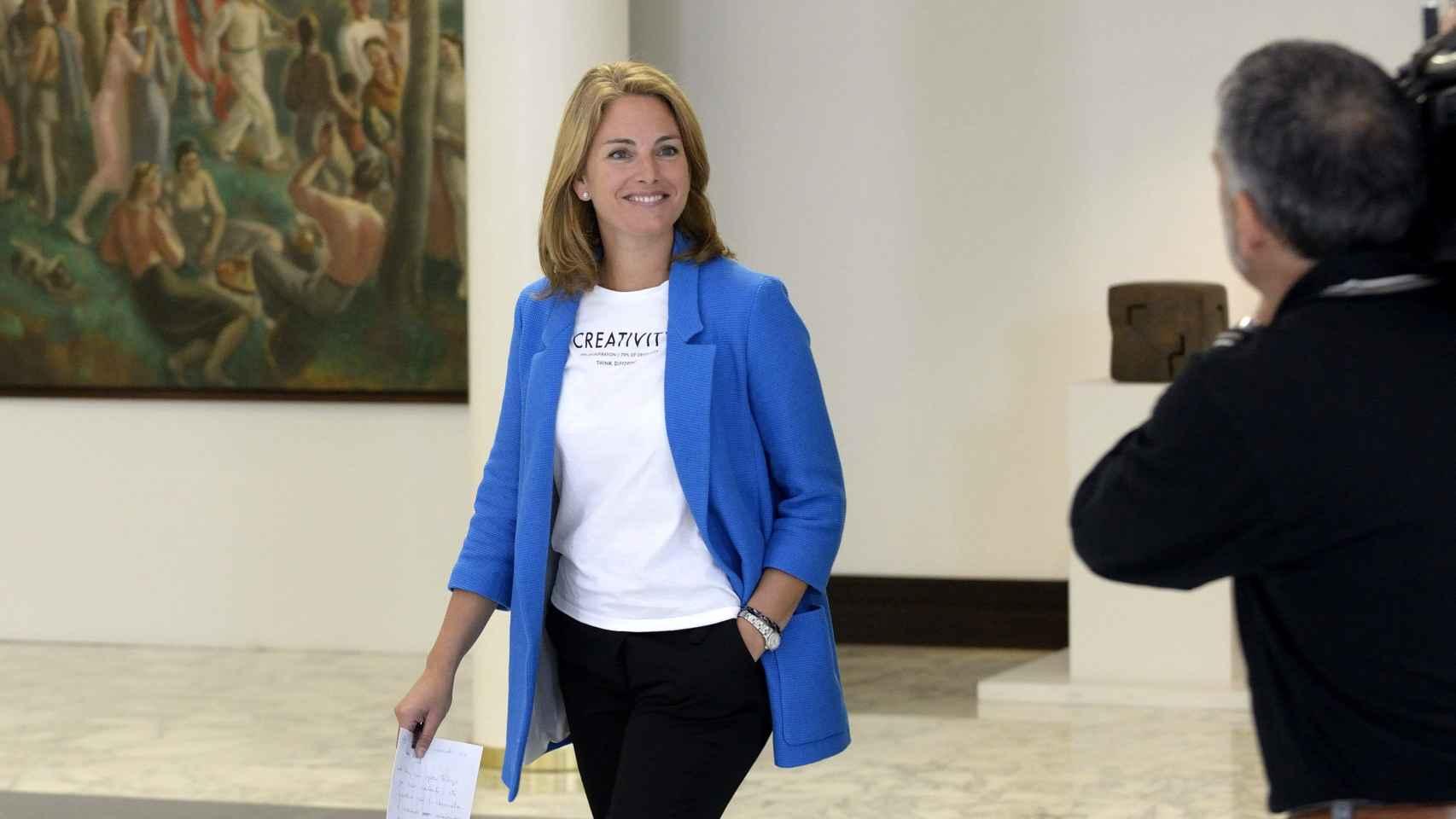 La líder del PP vasco, Arantza Quiroga, sigue sin dar señales de vida.