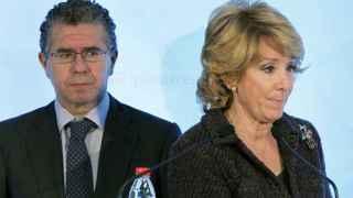 Granados y Aguirre, tras un comité de dirección del PP madrileño en 2010
