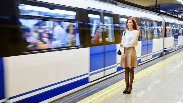 Otra de las piezas transcurre en el Metro