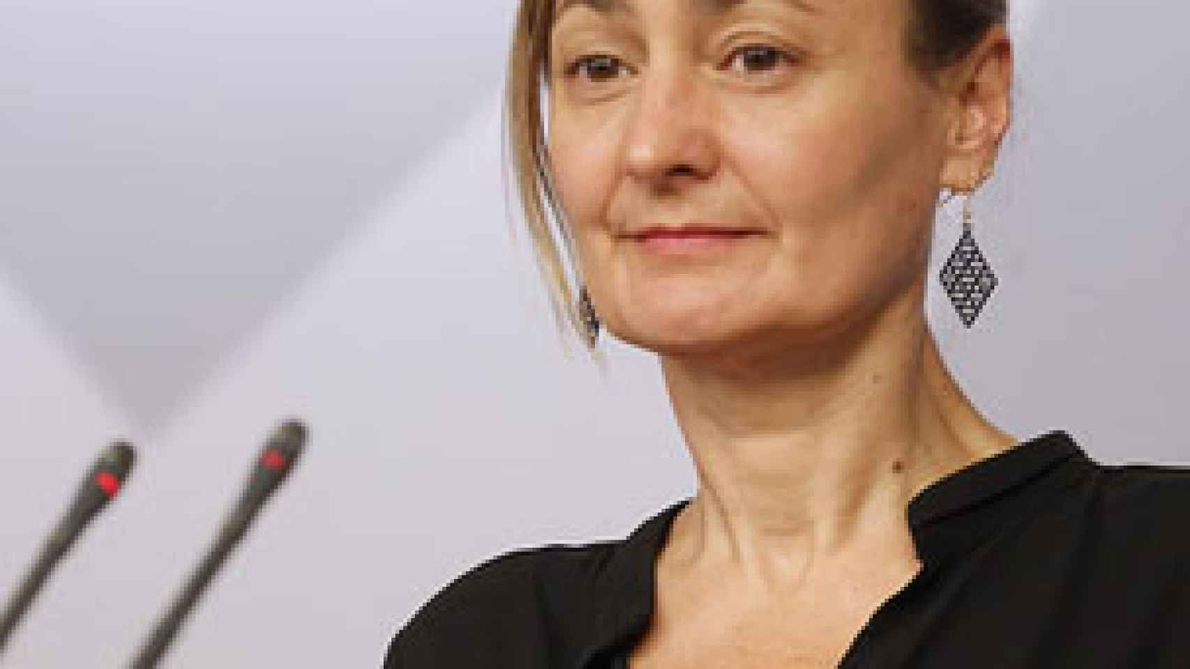 La portavoz de Empleo del grupo parlamentario socialista, Luz Rodríguez