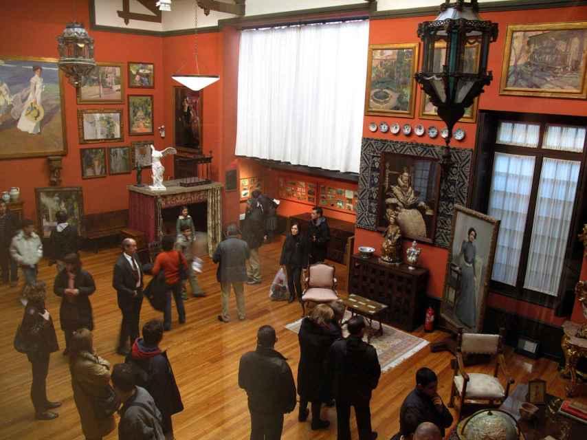 El Museo Sorolla (Madrid) será uno de los que paren su actividad.