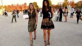 Bárbara Martelo en la semana de la moda de París