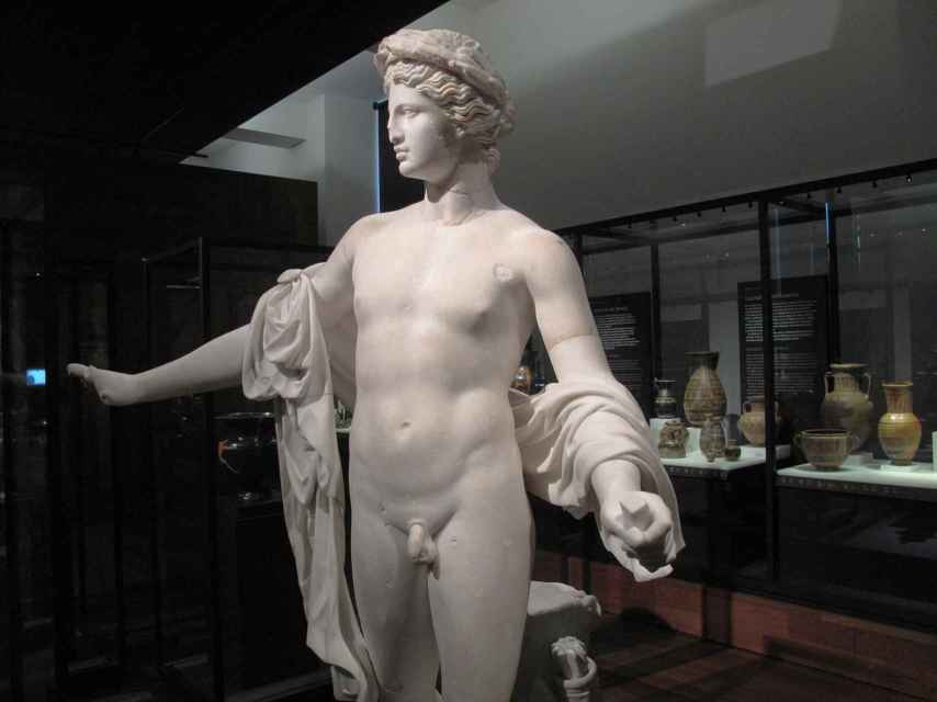 Estatua de Apolo, del Museo Arqueológico Nacional.