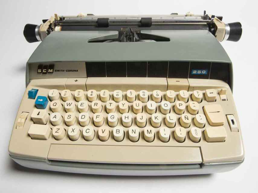 Máquina de escribir de Gabriel García Márquez