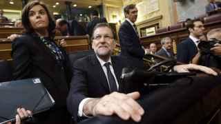 Mariano Rajoy ante el último Pleno del Congreso de la legislatura