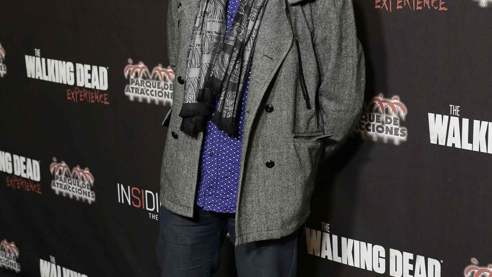 Juan Ramón Lucas en el Parque de Atracciones de Madrid