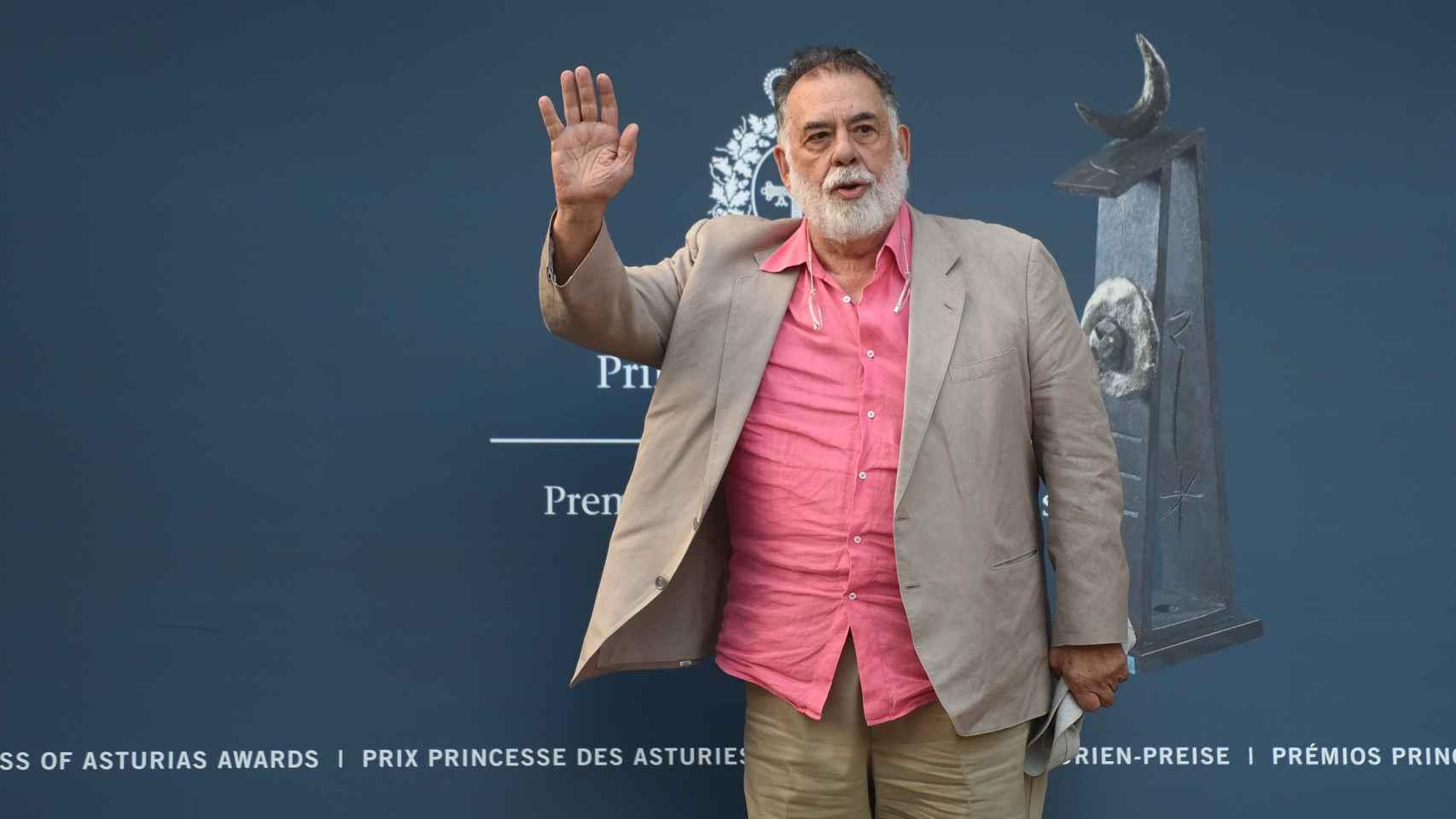Coppola a su llegada a Oviedo