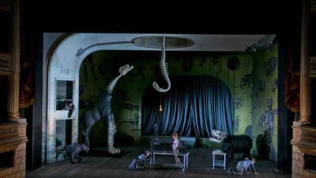Imagen del espectáculo, coproducido con la ópera de Burdeos.