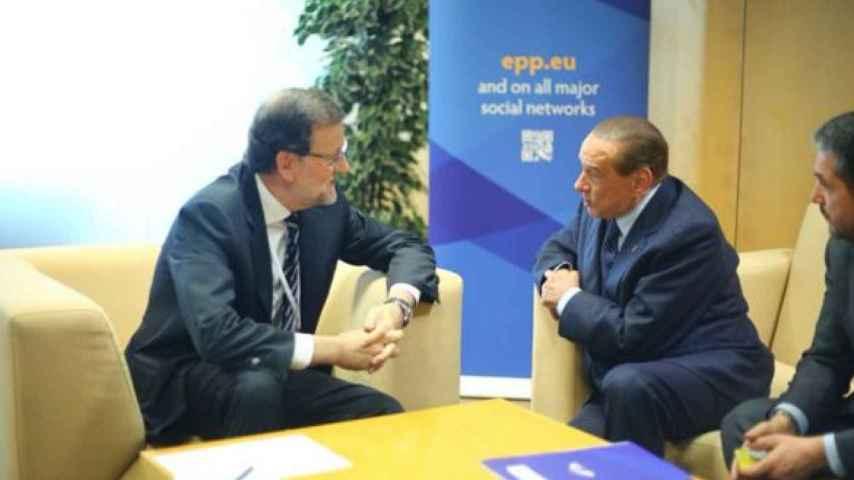 Rajoy publica en Twitter una imagen del encuentro.