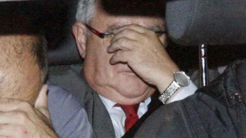 El tesorero de CDC, tras su detención el pasado 21 de octubre.