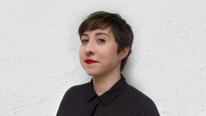 Elena Medel, poeta española.