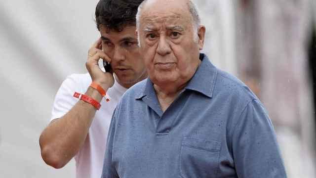 Amancio Ortega junto a su exyerno Sergio Álvarez