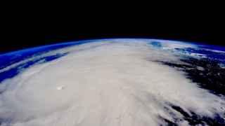 El huracán Patricia visto desde el espacio.