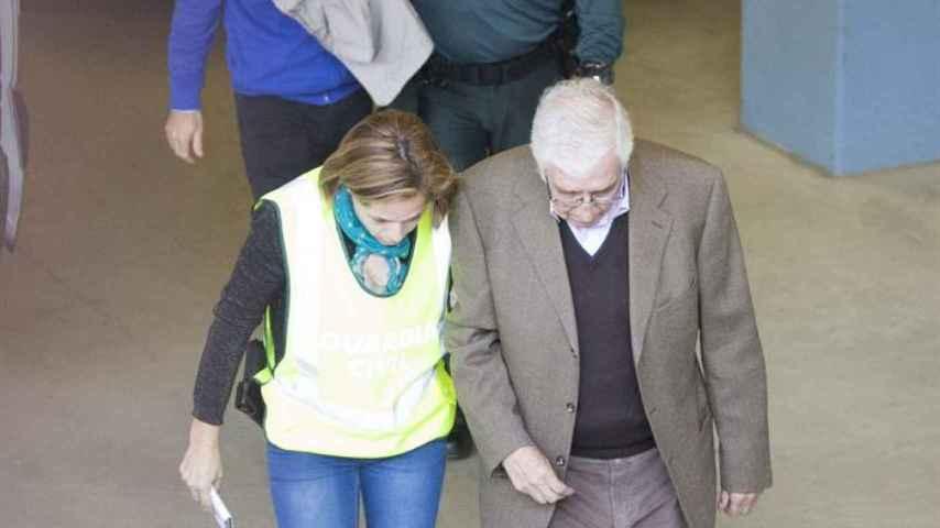 Josep Antoni Rosell ha sido trasladado al juzgado de El Vendrell (Tarragona) para pasar a disposición judicial