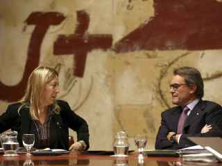 Neus Munté es la vicepresidenta en funciones de la Generalitat.