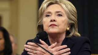 Hillary Clinton durante la audiencia especial del Comité Selectivo sobre Bengasi. / Reuters