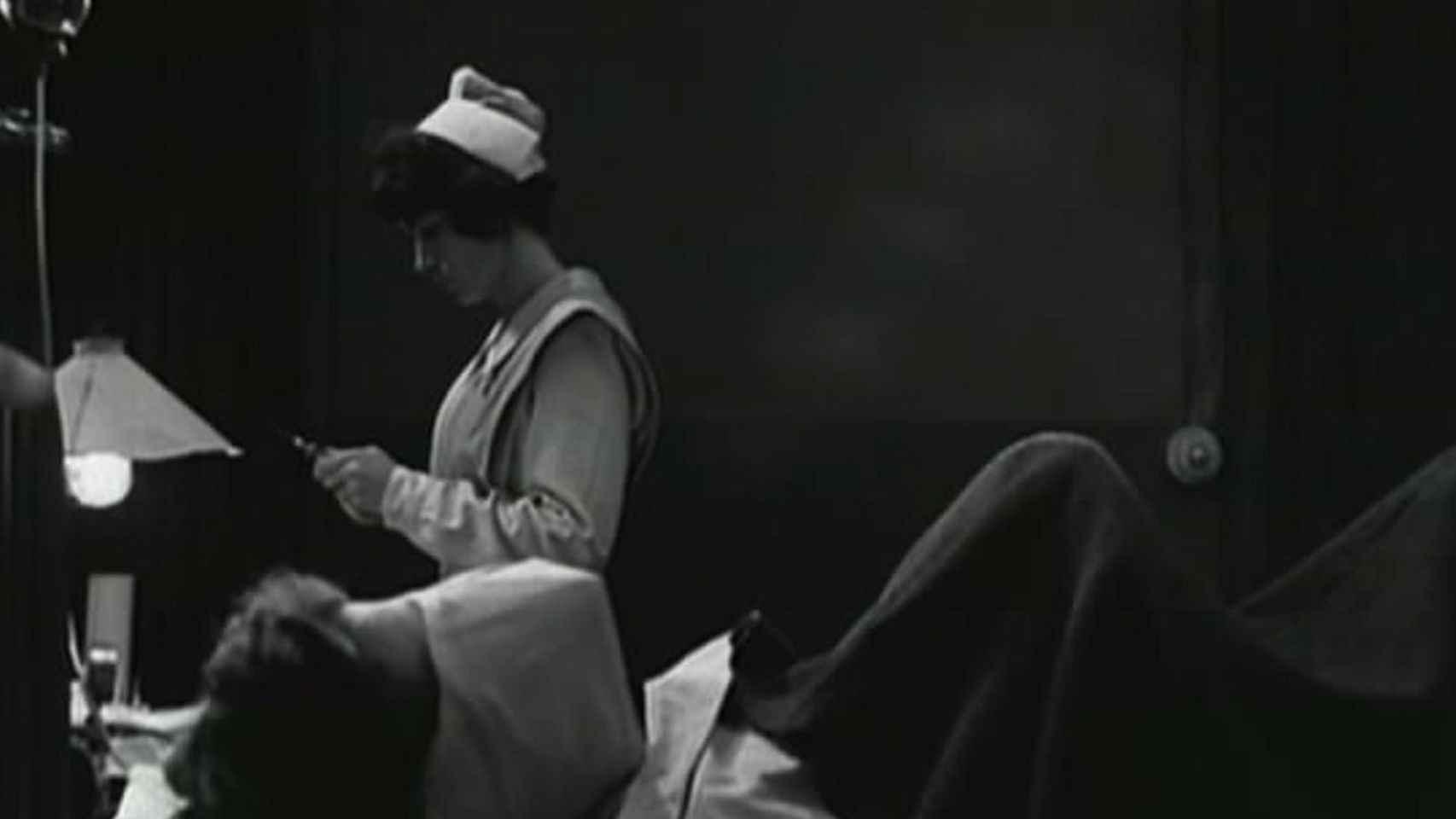 Fotograma de la película 'Johnny cogió su fusil'.