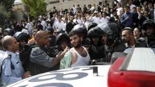 Un detenido sospechoso de apuñalar a un israelí.