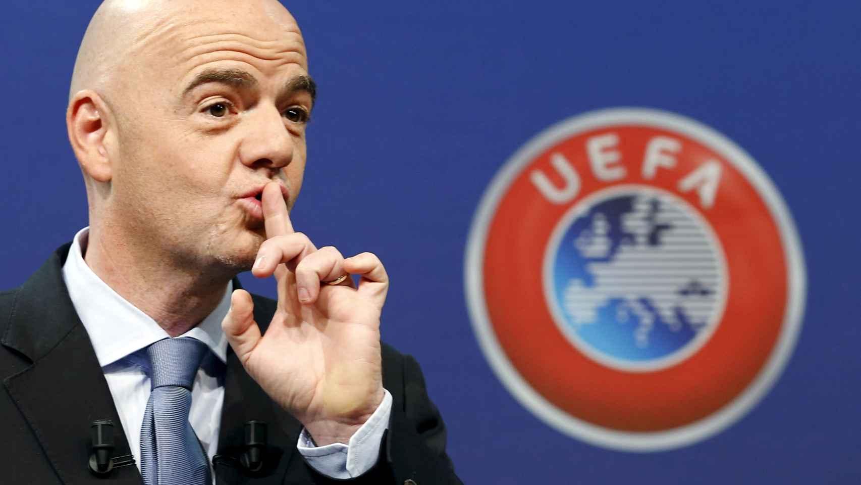 El secretario general de la UEFA es la alternativa europea a Michel Platini.