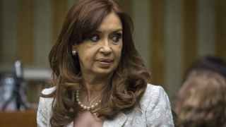 La presidente saliente, Cristina Fernández de Kirchner.