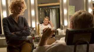 Cate Blanchet (Mapes) y Robert Redford (Rather), en el filme