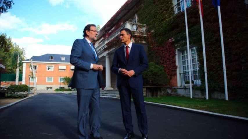 Dos conversaciones en dos días: Rajoy y Sánchez se ven en Moncloa