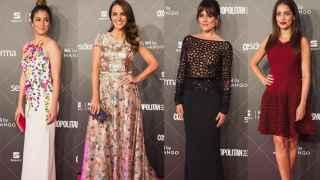 Blanca Suárez, Paula Echevarría, Adriana Ugarte e Hiba Abouk en los Premios Cosmo