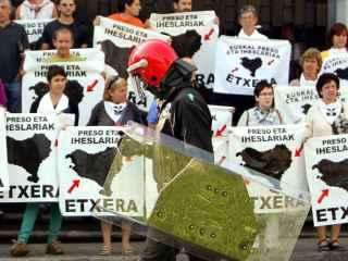 Concentración en apoyo a los presos de ETA