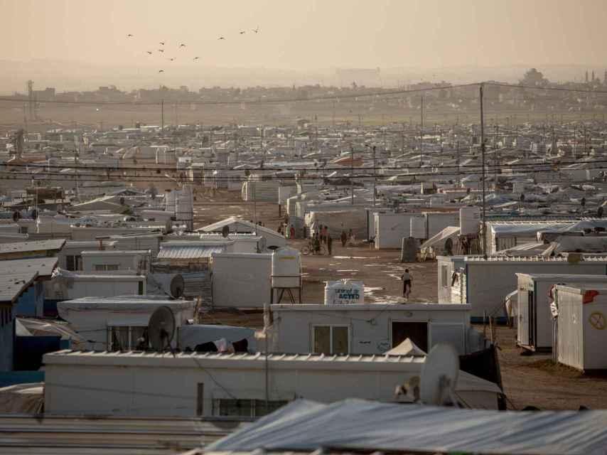 Vista aérea de Zaatari / District Zero y Oxfam Intermon
