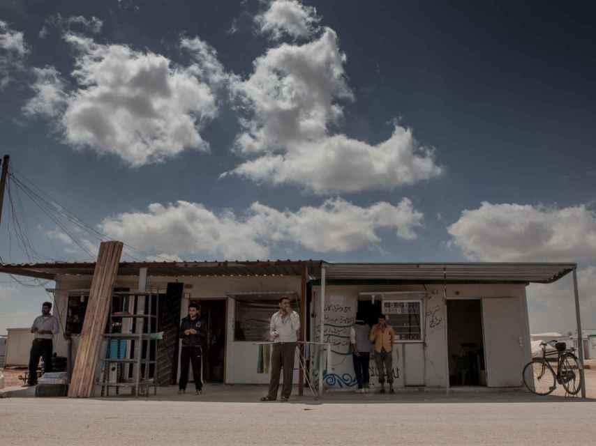 Tienda en Zaatari / District Zero y Oxfam Intermon