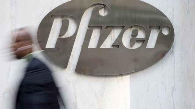 Sede de Pfizer en Nueva York