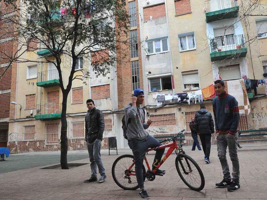 Barrio de Terrassa.