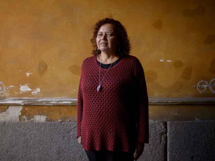 La activista Morena Herrera en Madrid. / Dani Pozo
