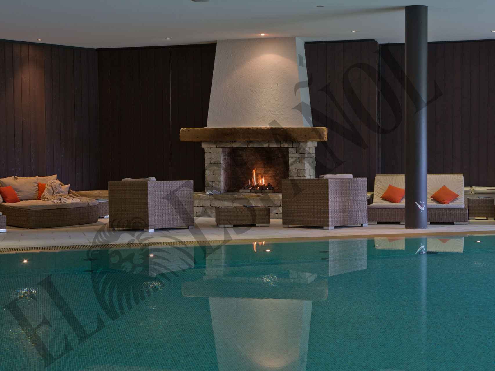 El spa de RoyalAlp