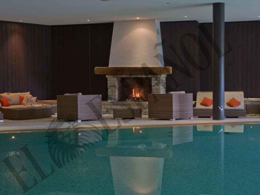El spa de RoyalAlp, el 'nido de amor' de Juan Carlos y Corinna en los Alpes.