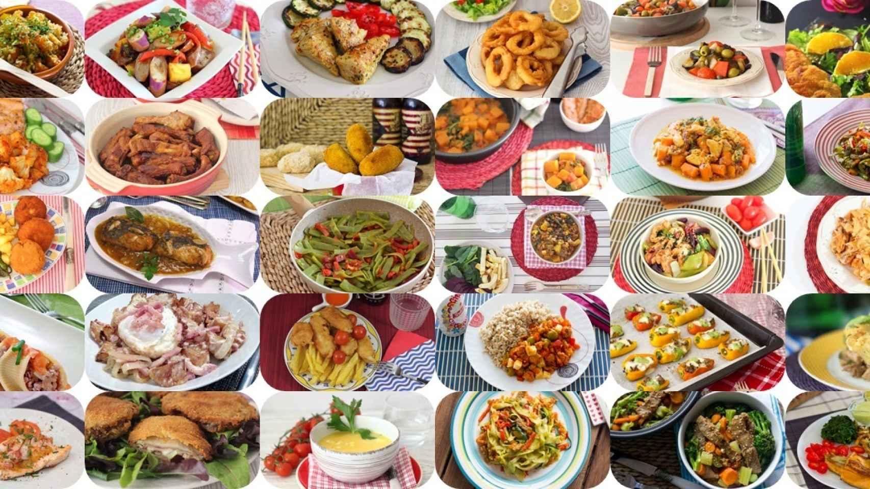30 Menús Listos En Menos De 30 Minutos Para No Repetir En Un Mes