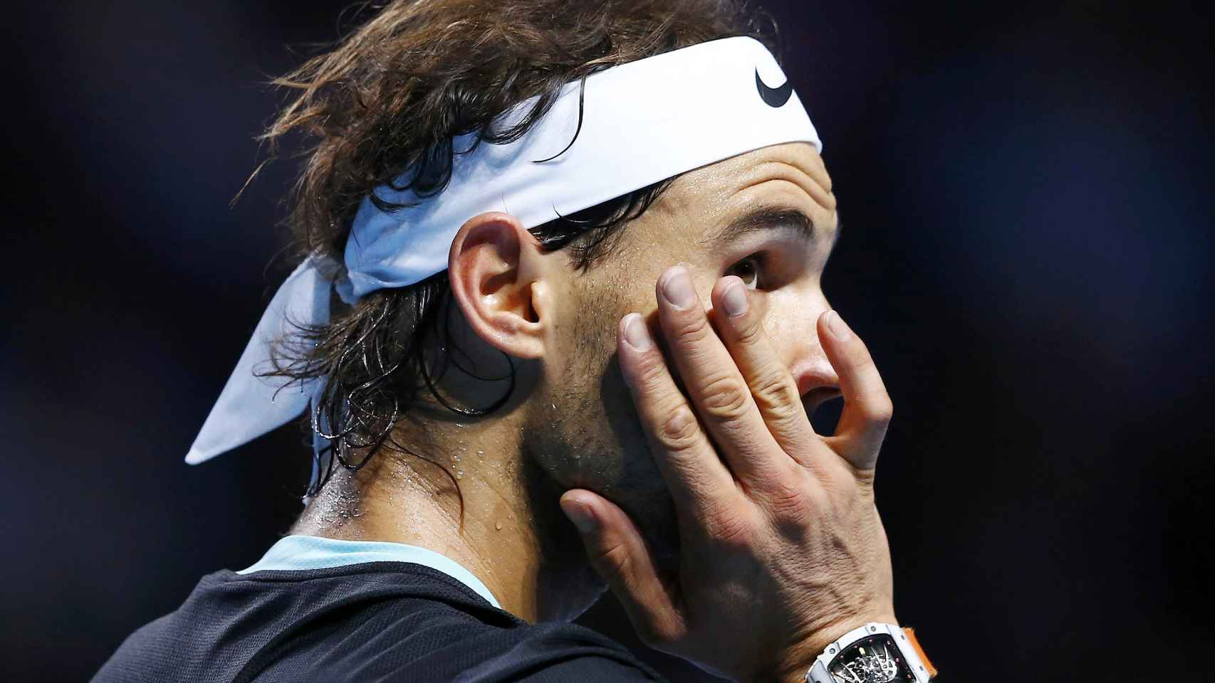 Rafa Nadal, derrotado en Basilea / Arnd Wiegmann / Reuters