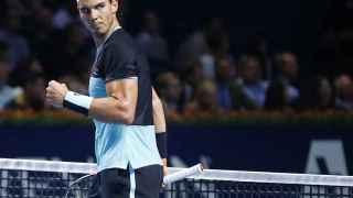 Rafael Nadal contra Federer. / Arn Wiegmann / Reuters