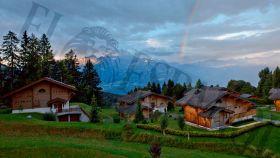 El dúplex del rey Juan Carlos y Corinna en los Alpes suizos