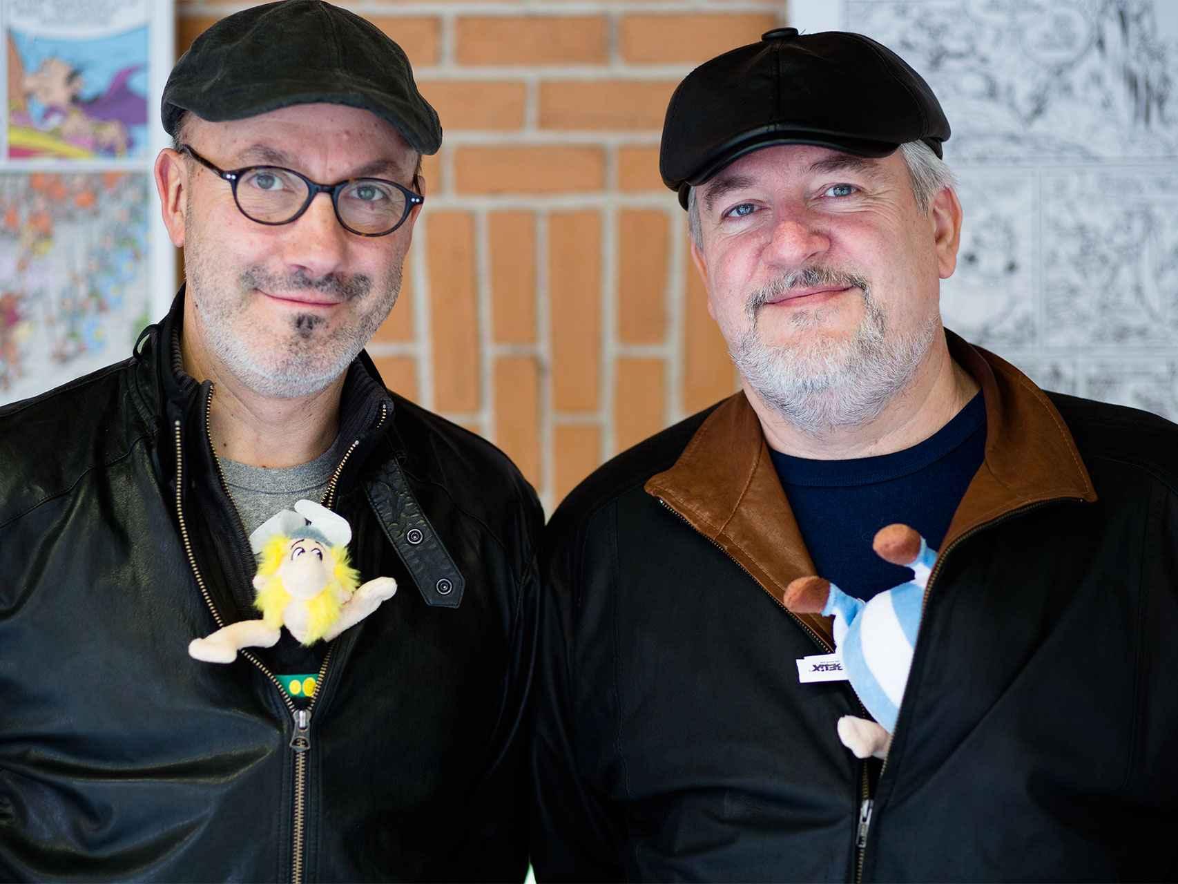 Jean-Yves Ferri y Didier Conrad, los nuevos autores de Astérix.